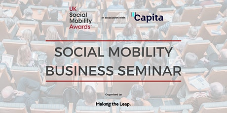 Social Mobility Business Seminar 2020 tickets
