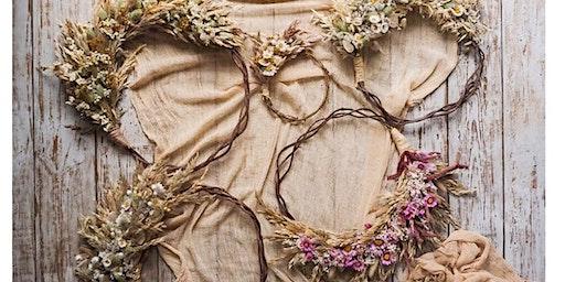 DIY Imbolc Wreath // Halfway to Spring Celebration