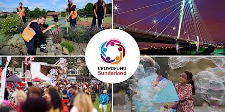 Crowdfund Sunderland - Free February workshop tickets
