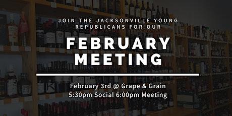 JYR February Meeting: Panel on Human Trafficking! tickets