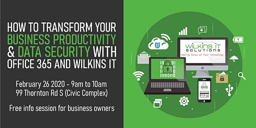 How to Transform your Business Productivity & Data Security