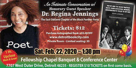 An Intimate Convo w/ Dr. Regina Jennings @4th  Annual AA Family Black Expo tickets