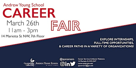 Andrew Young School 2020 Spring Career Fair tickets
