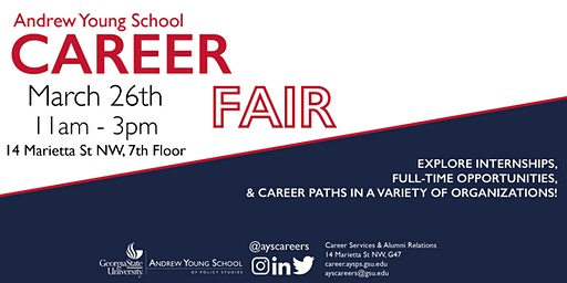 Andrew Young School 2020 Spring Career Fair