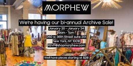Morphew's Bi-Annual Archive Sale tickets