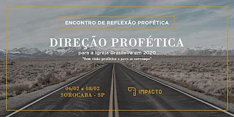 Encontro de Reflexão Profética 2020 ingressos