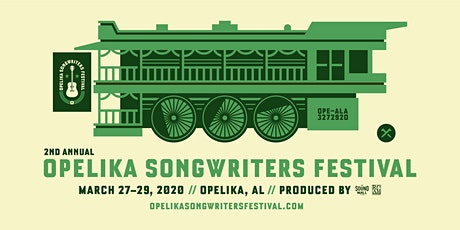 2ND ANNUAL OPELIKA SONGWRITERS FESTIVAL 2020 tickets