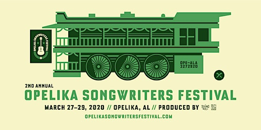 2ND ANNUAL OPELIKA SONGWRITERS FESTIVAL 2020