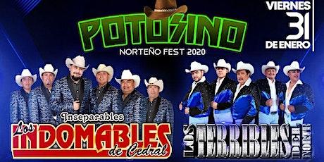 VIERNES 31 DE ENERO 2020 LOS INDOMABLES DE CEDRAL Y LOS TERRIBLES DEL NORTE tickets