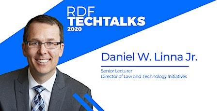 RDF Techtalks #1 - Future of Law and Computational Technologies with Dan Linna entradas