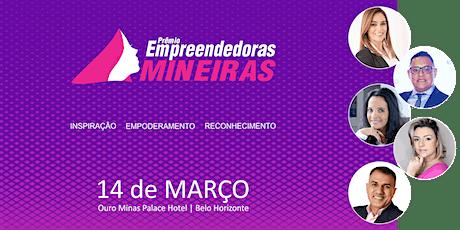 Prêmio Empreendedoras Mineiras ingressos