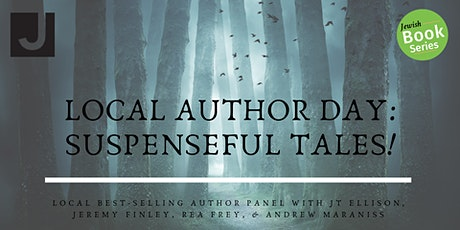 Local Author Day: Suspenseful Tales! tickets