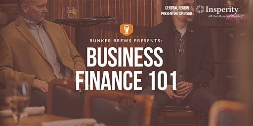 Bunker Brews Knoxville: Business Finance 101