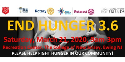End Hunger 3.6 TCNJ Food Packing Event