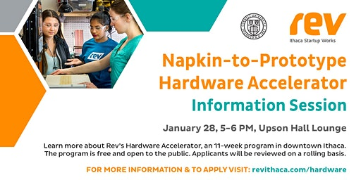 Napkin-to-Prototype Hardware Accelerator Information Session