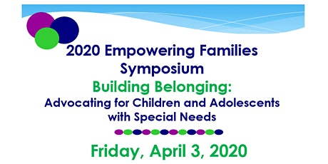 2020 Empowering Families Symposium tickets