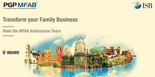 ISB (PGPMFAB)Family Business Coffee Meet at | Indore