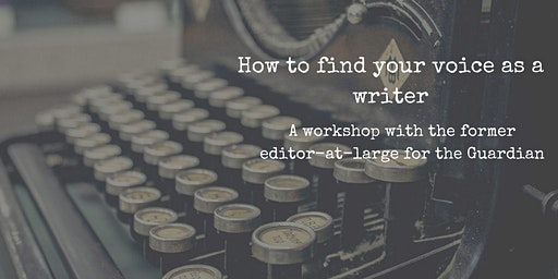How to Find Your Voice as a Writer Workshop