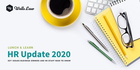 HR Update 2020 Lunch and Learn tickets
