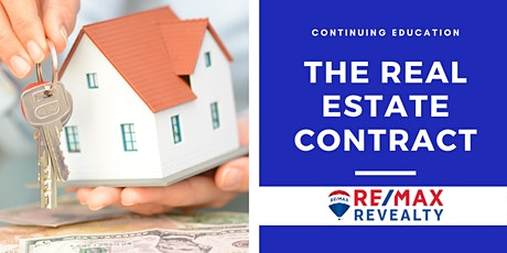 CE: The Real Estate Contract tickets