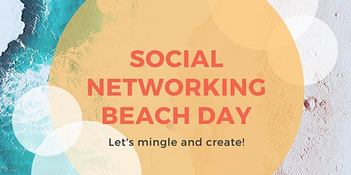 Social Networking Beach Day