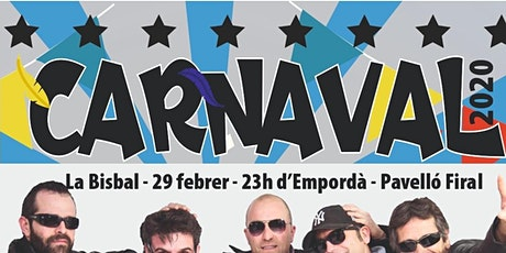 Festa de Carnaval amb 80 PRINCIPALES, THE COVERS BAND i SERIAL KILLERZ entradas