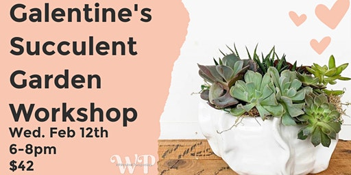 Galentine's Succulent Garden Workshop