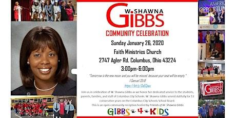 W. Shawna Gibbs Community Reception tickets