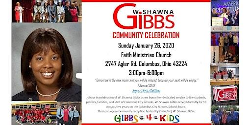 W. Shawna Gibbs Community Reception