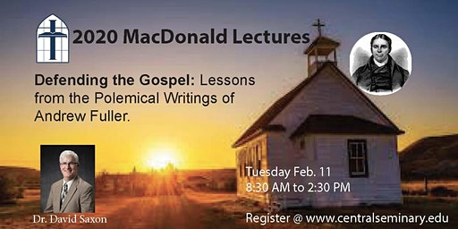 2020 MacDonald Lectures