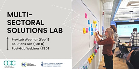 Multi-sectoral Solutions Lab tickets