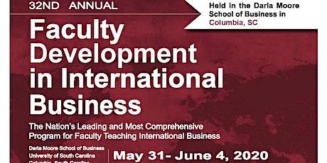 Faculty Development in International Business (FDIB) Pedagogical Seminars tickets