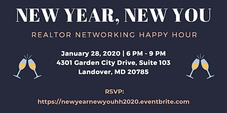 """""""New Year, New You"""" Realtor Networking Happy Hour tickets"""