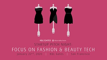 SOLD OUT! Startup Pitch Night: Focus on Fashion & Beauty Tech