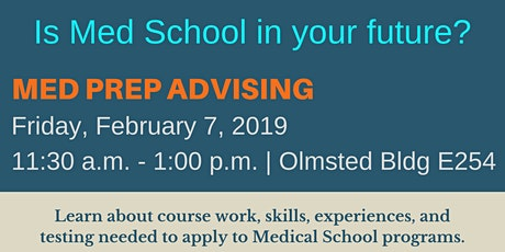 Med Prep: Health Professions Group Advising tickets