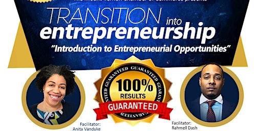 Transition into Entrepreneurship