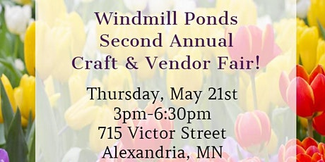 Second Annual Craft & Vendor Fair tickets