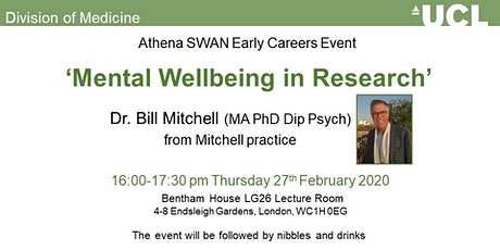 Mental Wellbeing in Research tickets
