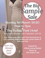 The Big Sample Sale