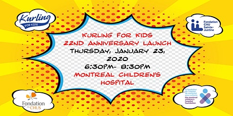 Kurling for Kids 22nd Anniversary Launch tickets