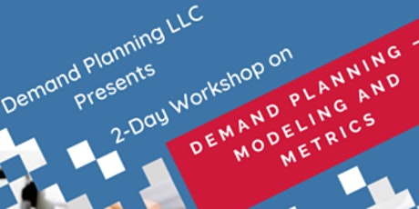 Demand Planning for S&OP: Two-Day Workshop tickets