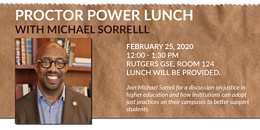 Proctor Power Lunch with PDLS Speaker Michael Sorrell