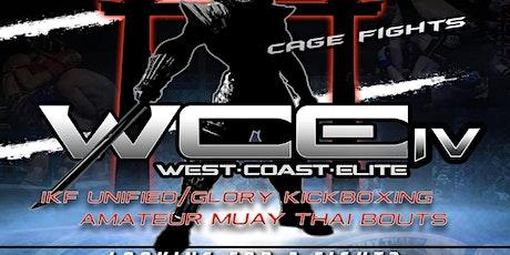 West Coast Elite MMA/Muay Thai/Kickboxing tickets