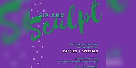 Sip & Sculpt: 2020 Edition tickets