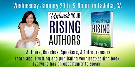 Best-Selling Author Workshop - Unleash Your Rising with Christine Gail tickets