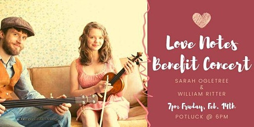 Benefit Concert with William Ritter & Sarah Ogletree