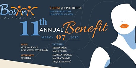 Bosana 11th Annual Benefit  tickets