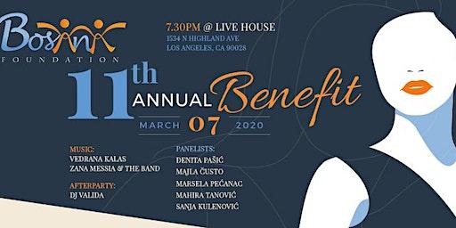 Bosana 11th Annual Benefit