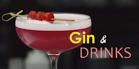 Gin e Drinks ingressos
