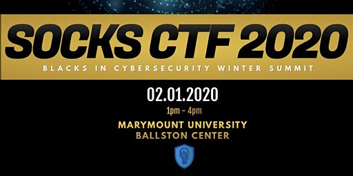 Blacks In Cybersecurity Winter Summit 2020 - CTF